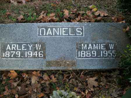 DANIELS, ARLEY W. - Boone County, Arkansas | ARLEY W. DANIELS - Arkansas Gravestone Photos