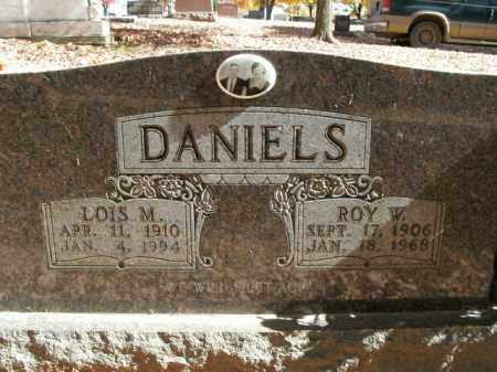 DANIELS, ROY W. - Boone County, Arkansas   ROY W. DANIELS - Arkansas Gravestone Photos