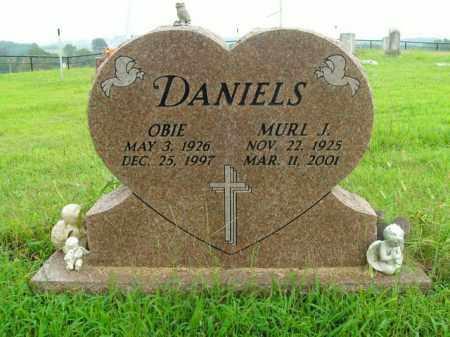DANIELS, OBIE - Boone County, Arkansas | OBIE DANIELS - Arkansas Gravestone Photos