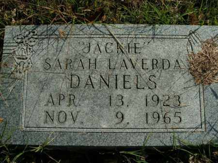 "DANIELS, SARAH LAVERDA ""JACKIE"" - Boone County, Arkansas | SARAH LAVERDA ""JACKIE"" DANIELS - Arkansas Gravestone Photos"