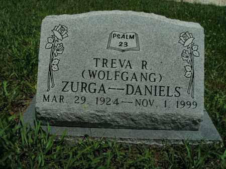 DANIELS, TREVA R. ZURGA - Boone County, Arkansas | TREVA R. ZURGA DANIELS - Arkansas Gravestone Photos