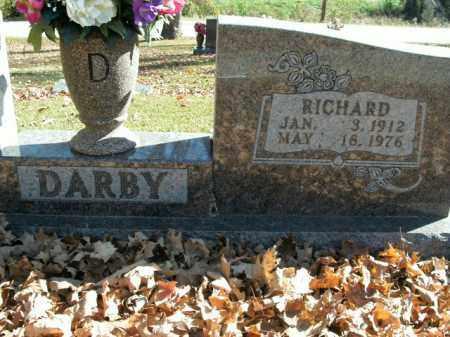 DARBY, RICHARD - Boone County, Arkansas   RICHARD DARBY - Arkansas Gravestone Photos