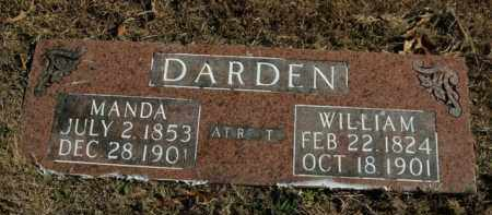 DARDEN, MANDA - Boone County, Arkansas | MANDA DARDEN - Arkansas Gravestone Photos