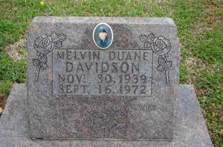 DAVIDSON, MELVIN DUANE - Boone County, Arkansas | MELVIN DUANE DAVIDSON - Arkansas Gravestone Photos