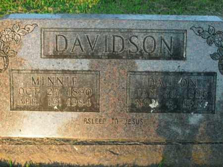 DAVIDSON, DALTON - Boone County, Arkansas | DALTON DAVIDSON - Arkansas Gravestone Photos