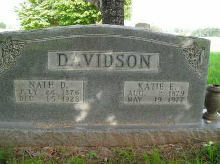 DAVIDSON, KATIE E. - Boone County, Arkansas | KATIE E. DAVIDSON - Arkansas Gravestone Photos