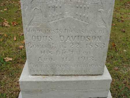 DAVIDSON, ODUS - Boone County, Arkansas | ODUS DAVIDSON - Arkansas Gravestone Photos