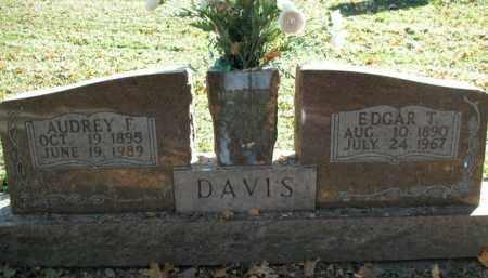 DAVIS, AUDREY F. - Boone County, Arkansas   AUDREY F. DAVIS - Arkansas Gravestone Photos