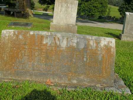 DAVIS, JEFF - Boone County, Arkansas | JEFF DAVIS - Arkansas Gravestone Photos