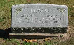 DAVIS, DOVIE - Boone County, Arkansas | DOVIE DAVIS - Arkansas Gravestone Photos