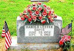 DAVIS, HAROLD LESTER - Boone County, Arkansas   HAROLD LESTER DAVIS - Arkansas Gravestone Photos