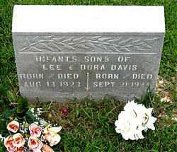 DAVIS, INFANT SON - Boone County, Arkansas | INFANT SON DAVIS - Arkansas Gravestone Photos