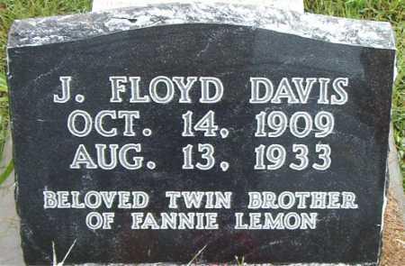 DAVIS, J.     FLOYD - Boone County, Arkansas | J.     FLOYD DAVIS - Arkansas Gravestone Photos