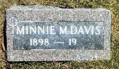 DAVIS, MINNIE MAE - Boone County, Arkansas   MINNIE MAE DAVIS - Arkansas Gravestone Photos