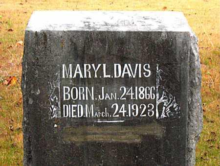 DAVIS, MARY L - Boone County, Arkansas | MARY L DAVIS - Arkansas Gravestone Photos