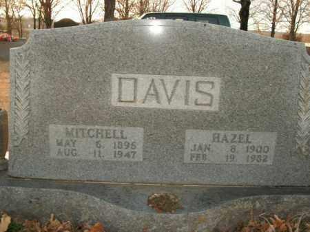 DAVIS, MITCHELL - Boone County, Arkansas | MITCHELL DAVIS - Arkansas Gravestone Photos