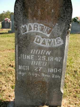 DAVIS, MARTIN - Boone County, Arkansas   MARTIN DAVIS - Arkansas Gravestone Photos