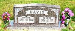 DAVIS, ERNEST - Boone County, Arkansas | ERNEST DAVIS - Arkansas Gravestone Photos