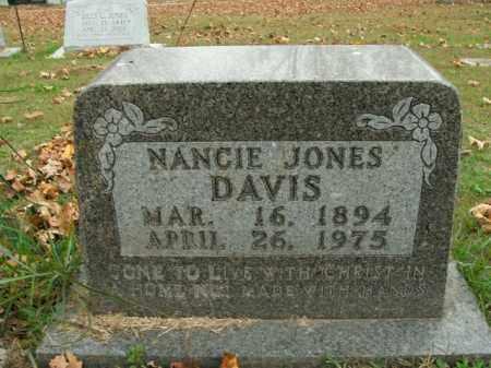 DAVIS, NANCIE - Boone County, Arkansas   NANCIE DAVIS - Arkansas Gravestone Photos