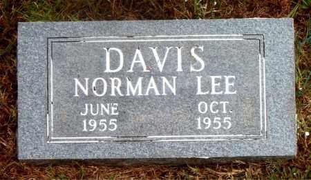 DAVIS, NORMAN LEE - Boone County, Arkansas | NORMAN LEE DAVIS - Arkansas Gravestone Photos
