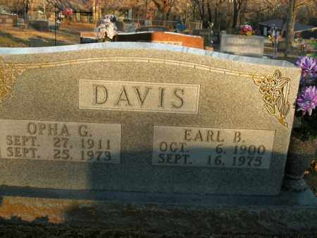 DAVIS, OPHA G. - Boone County, Arkansas | OPHA G. DAVIS - Arkansas Gravestone Photos