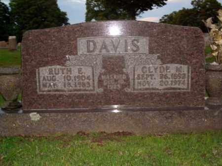 DAVIS, CLYDE M. - Boone County, Arkansas | CLYDE M. DAVIS - Arkansas Gravestone Photos