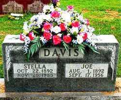 DAVIS, STELLA - Boone County, Arkansas | STELLA DAVIS - Arkansas Gravestone Photos