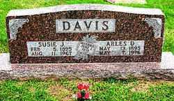 DAVIS, ARLES D. - Boone County, Arkansas | ARLES D. DAVIS - Arkansas Gravestone Photos