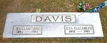 DAVIS, EVA ELIZABETH - Boone County, Arkansas   EVA ELIZABETH DAVIS - Arkansas Gravestone Photos
