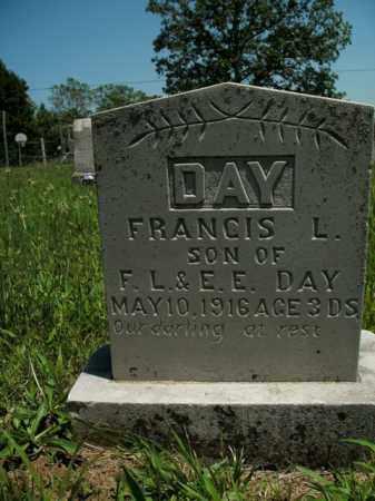 DAY, FRANCIS L. - Boone County, Arkansas   FRANCIS L. DAY - Arkansas Gravestone Photos