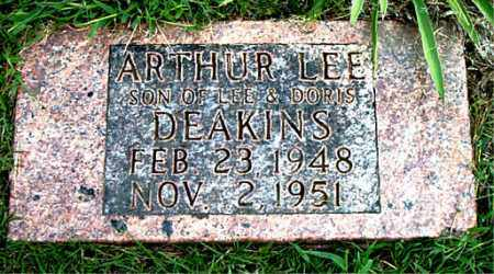 DEAKINS, ARTHUR LEE - Boone County, Arkansas | ARTHUR LEE DEAKINS - Arkansas Gravestone Photos