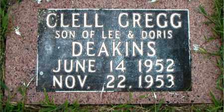 DEAKINS, CLELL GREGG - Boone County, Arkansas | CLELL GREGG DEAKINS - Arkansas Gravestone Photos