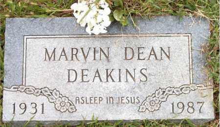 DEAKINS, MARVIN DEAN - Boone County, Arkansas   MARVIN DEAN DEAKINS - Arkansas Gravestone Photos