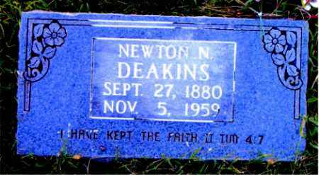 DEAKINS, NEWTON  N. - Boone County, Arkansas | NEWTON  N. DEAKINS - Arkansas Gravestone Photos