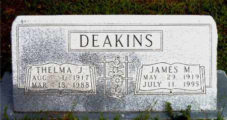 DEAKINS, JAMES  M. - Boone County, Arkansas | JAMES  M. DEAKINS - Arkansas Gravestone Photos