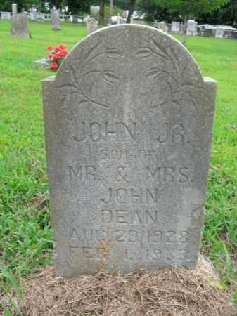 DEAN, JOHN, JR. - Boone County, Arkansas   JOHN, JR. DEAN - Arkansas Gravestone Photos