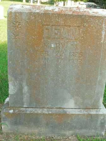 DEAN, MARY M. - Boone County, Arkansas | MARY M. DEAN - Arkansas Gravestone Photos