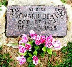 DEAN, RONALD - Boone County, Arkansas | RONALD DEAN - Arkansas Gravestone Photos
