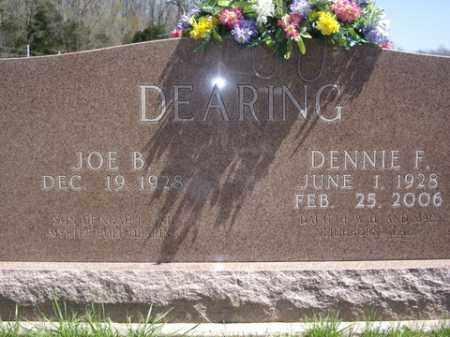 DEARING, DENNIE F. - Boone County, Arkansas | DENNIE F. DEARING - Arkansas Gravestone Photos