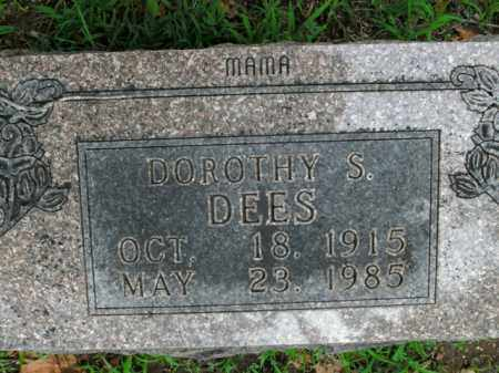 DEES, DOROTHY S. - Boone County, Arkansas   DOROTHY S. DEES - Arkansas Gravestone Photos