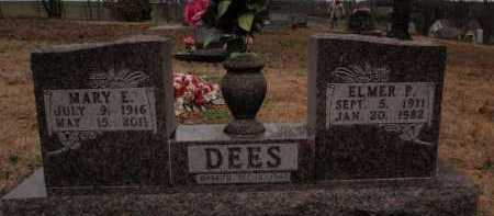 DEES, ELMER P. - Boone County, Arkansas | ELMER P. DEES - Arkansas Gravestone Photos