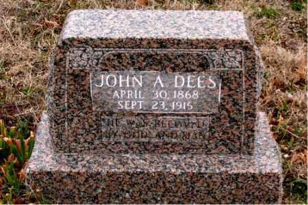 DEES, JOHN A. - Boone County, Arkansas | JOHN A. DEES - Arkansas Gravestone Photos