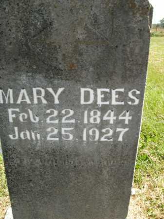 DEES, MARY - Boone County, Arkansas | MARY DEES - Arkansas Gravestone Photos