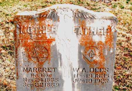 DEES, W. A. - Boone County, Arkansas | W. A. DEES - Arkansas Gravestone Photos