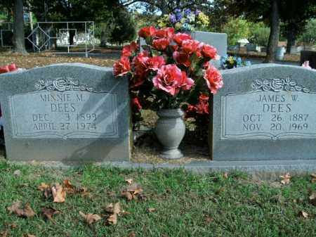 DEES, JAMES W. - Boone County, Arkansas   JAMES W. DEES - Arkansas Gravestone Photos