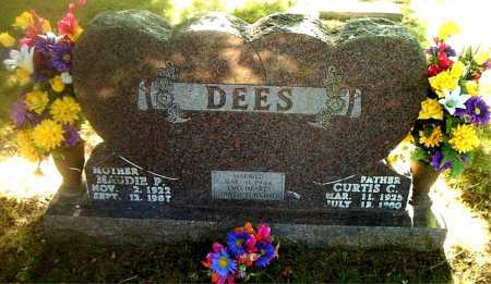 DEES, CURTIS  C. - Boone County, Arkansas   CURTIS  C. DEES - Arkansas Gravestone Photos
