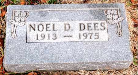 DEES, NOEL  D. - Boone County, Arkansas | NOEL  D. DEES - Arkansas Gravestone Photos