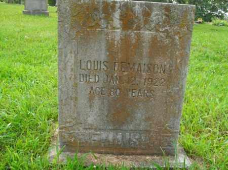 DEMAISON, LOUIS - Boone County, Arkansas | LOUIS DEMAISON - Arkansas Gravestone Photos