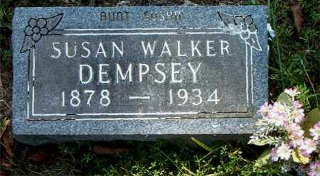 WALKER DEMPSEY, SUSAN - Boone County, Arkansas | SUSAN WALKER DEMPSEY - Arkansas Gravestone Photos