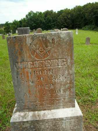 DENNING, WILLIAM C. - Boone County, Arkansas | WILLIAM C. DENNING - Arkansas Gravestone Photos